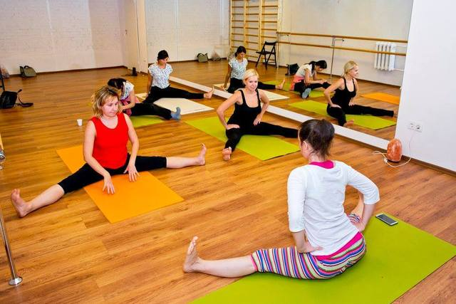 Фитнес и йога в ангарске